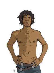 ric_shirtless